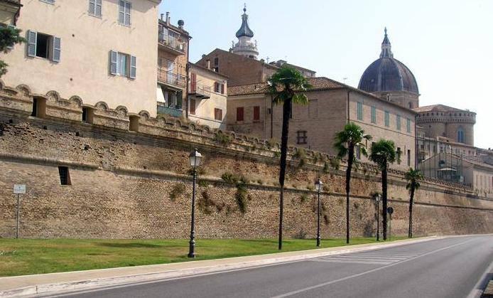 Il centro di Loreto