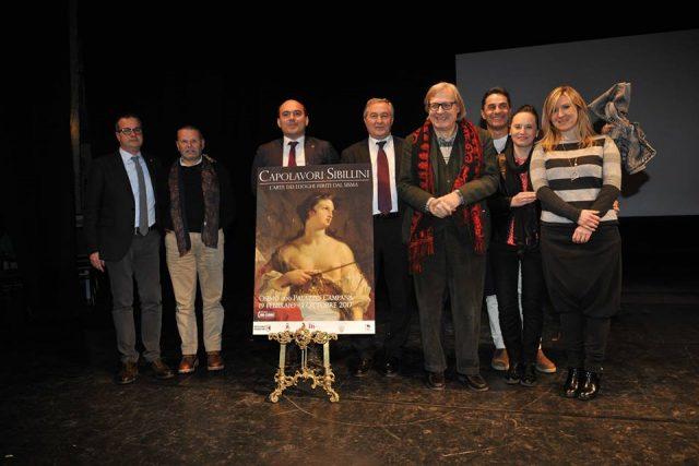 Osimo, Vittorio Sgarbi in città per la mostra su de Chirico
