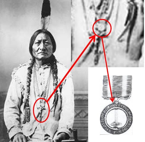 La medaglia di Toro Seduto