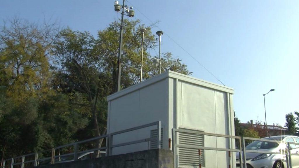 Una centralina per il monitoraggio della qualità dell'aria