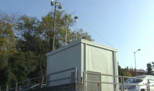 Centralina monitoraggio della qualità dell'aria