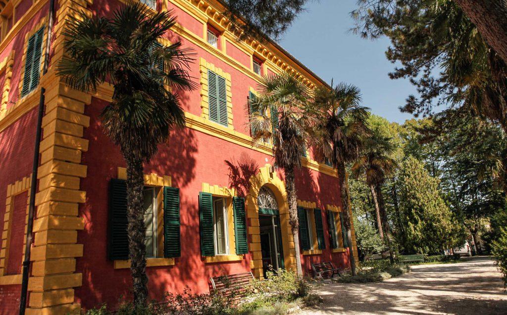 Villa Borgognoni a Jesi (foto Ballarini)