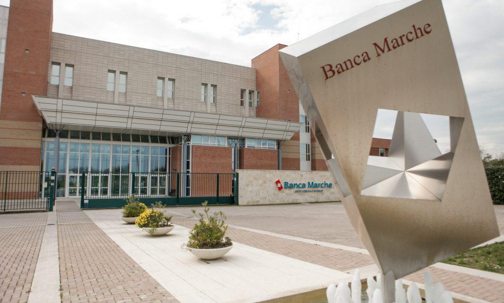 L'ex quartier generale di Banca delle Marche a Jesi, ora Ubi Banca