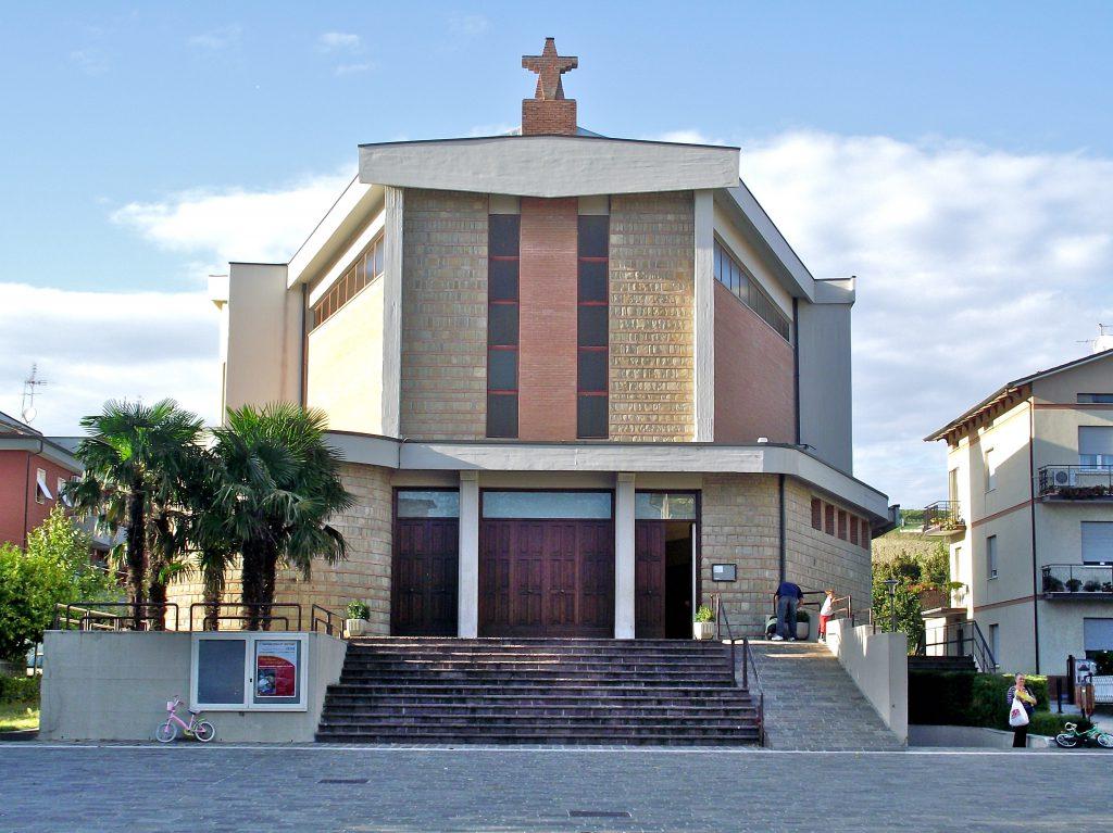 La Chiesa Cristo Redentore di Moie dove saranno officiate le esequie