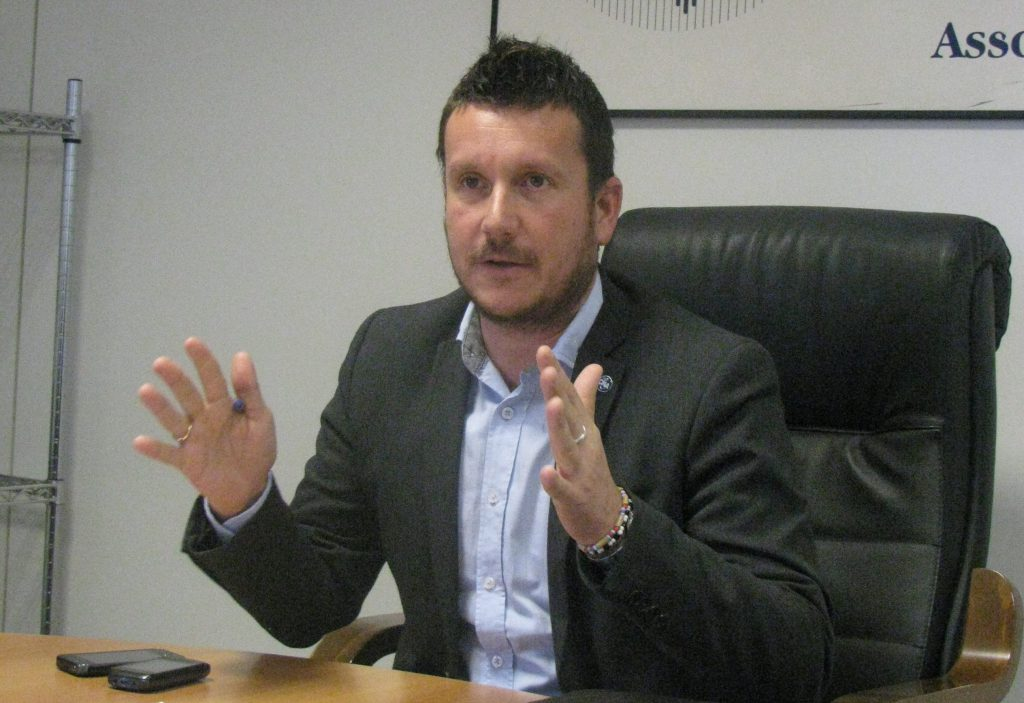 Andrea Riccardi, segretario della Cna Jesi-Fabriano