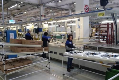 Fabriano, Whirlpool: la produzione di piani cottura a Melano continua a essere stabile