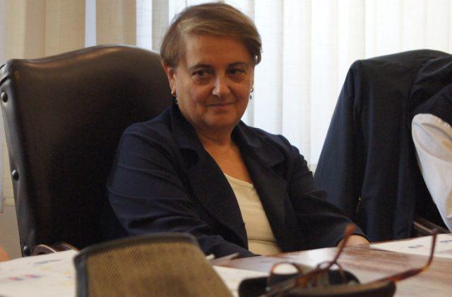 Il sindaco Valeria Mancinelli