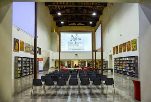 Fabriano, di nuovo accessibili le sale studio della Biblioteca Sassi