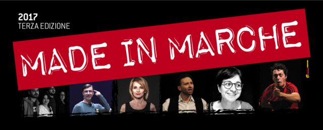 """""""Made in Marche"""" al via la rassegna al teatro Panettone"""
