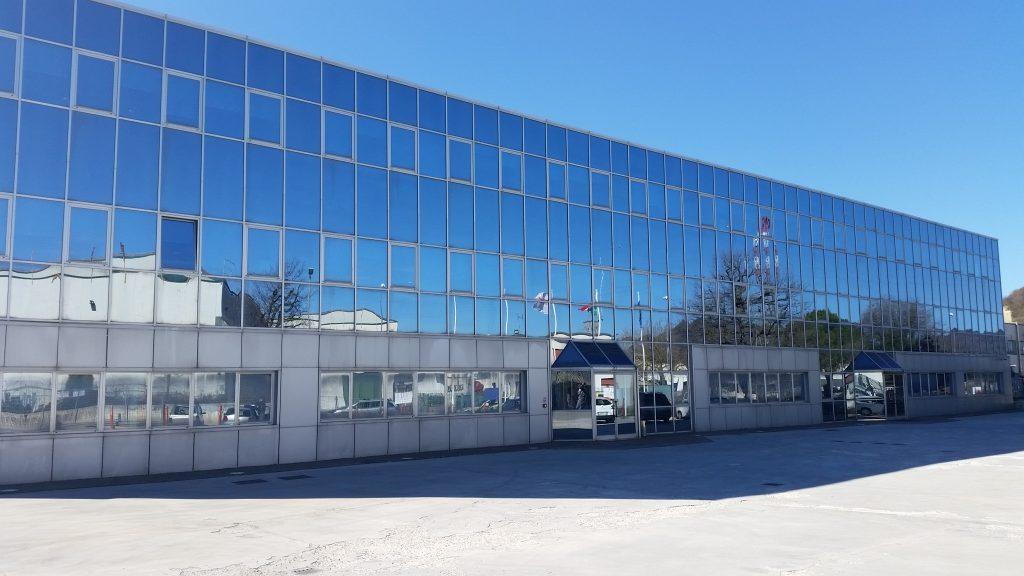 La sede degli uffici della Tecnowind a Fabriano
