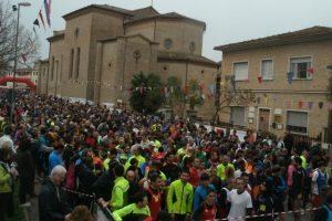 Un'immagine delle ultime edizione della Caminada de San Giuseppe a Jesi