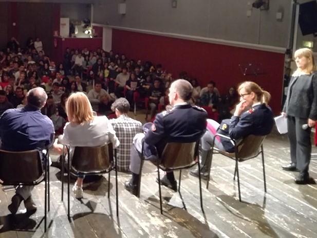Una mattinata dedicata a Francesco Saccinto ha coinvolto decine di studenti