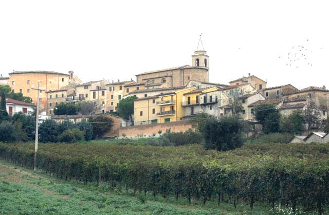 Il centro storico di Monte Roberto