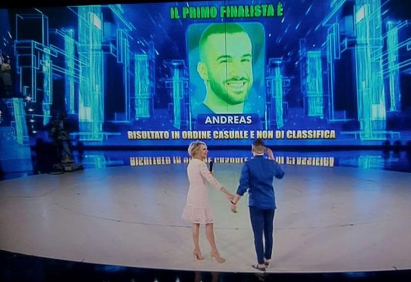 Andreas muller in finale ad amici centropagina - Sogno casa fabriano ...