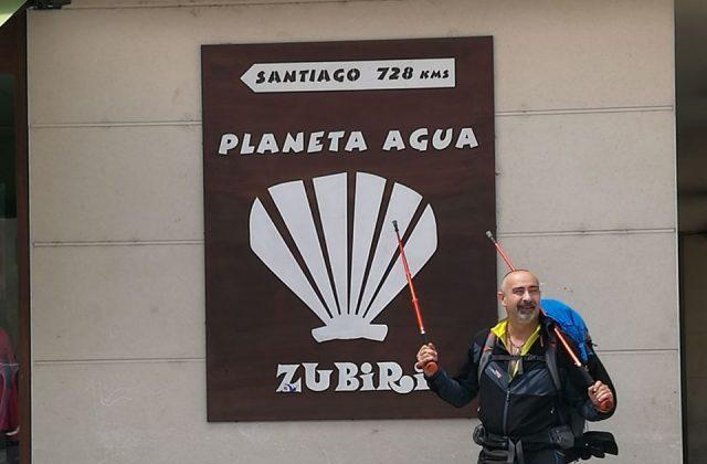 Lo jesino Andrea Esposto sul Cammino di Santiago: «Qui siamo tutti uguali»