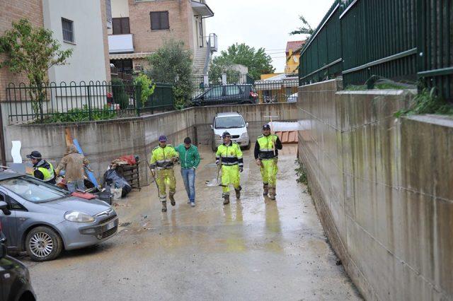 L'alluvione del 2014 a Passatempo