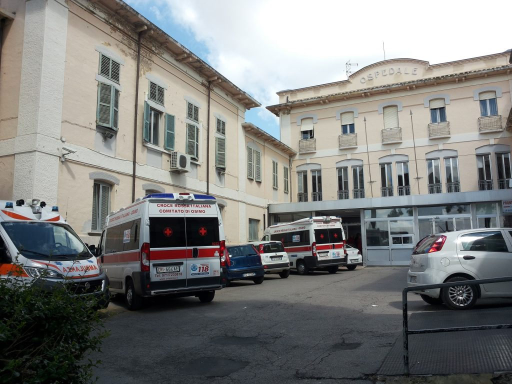 """L'ospedale """"Ss. Benvenuto e Rocco"""" di Osimo"""