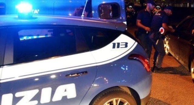 Intervento della Squadra Volante (Foto: Polizia di Stato)