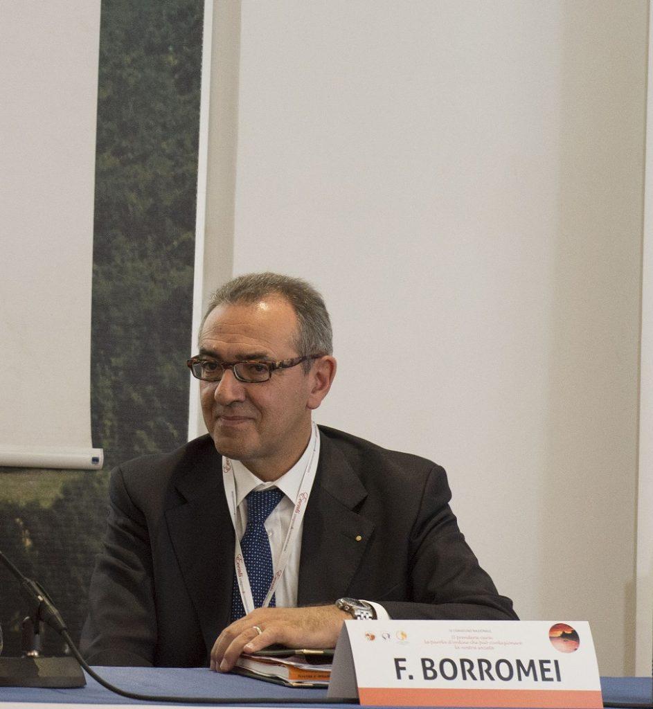 Fulvio Borromei, presidente dell'Ordine dei Medici della Provincia di Ancona