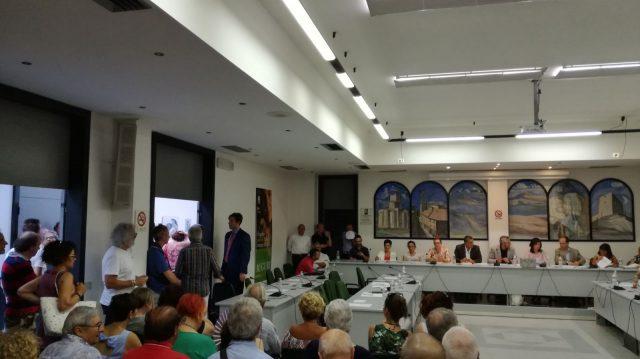 Rieti, ecco il primo consiglio comunale, il presidente è Giuliano Sanesi