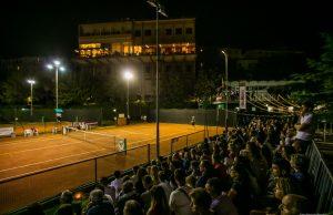I campi in terra rossa del Circolo Cittadino, scenario del quinto ITAS Open, Memorial Romano Cacciani