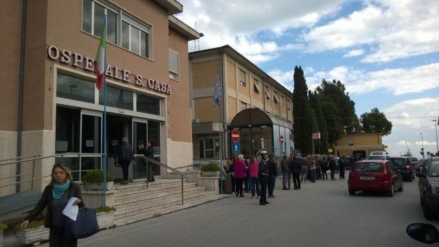 L'ospedale Santa Casa di Loreto