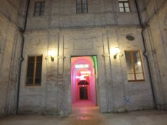 L'ingresso del chiostro del Mam'S di Sassoferrato