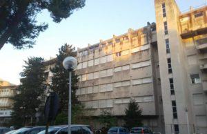 La sede del vecchio ospedale di viale della Vittoria