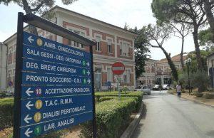 Sanità pubblica: l'area interna dell'ospedale di Senigallia