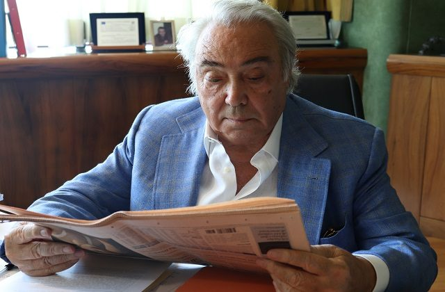 L'ingegner Gennaro Pieralisi