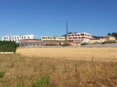 La nuova sede nazionale della Lega del Filo d'oro in via di ultimazione a Osimo