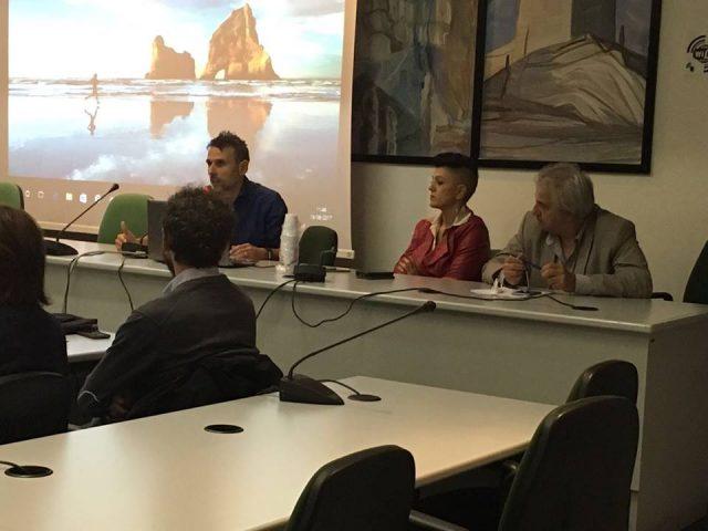 L'assessore Simona Lupini durante la presentazione del progetto Laboratorio 10