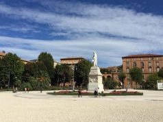 Piazza Cavour, ad Ancona