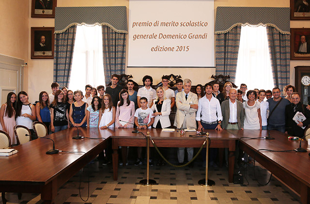 L'edizione 2015 del premio Gen. Domenico Grandi a Corinaldo