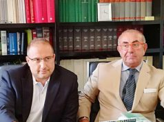 Gli avvocati Roberto Paradisi e Domenico Liso intervenuti in merito all'alluvione di Senigallia