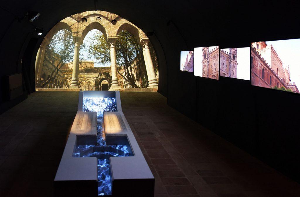Una delle sale del museo Federico II Stupor Mundi a Jesi
