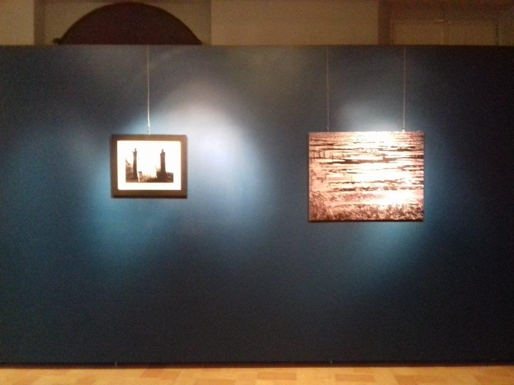 Un dettaglio della mostra di Enzo Carli