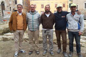 Daniele Stronati, Alessandro Biagioni, Matteo Tadolti, Giuseppe Petrone, Shabani Shpendim