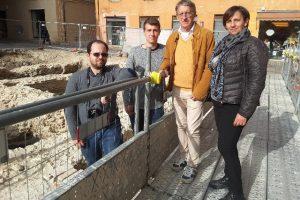 Daniele Stronati con Simona Guido, Alex Zamparini e Luca Bisbocci