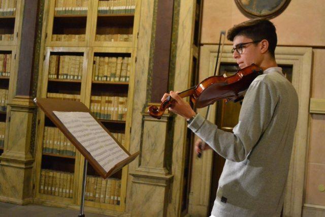 Pierfrancesco Curzi ospite alla Biblioteca Planettiana