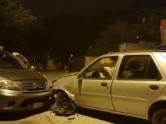 Incidente in via Ranieri (Foto: Vigili del Fuoco)