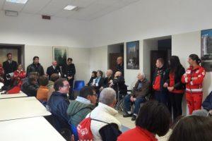 Un momento dell'iniziativa presso presso la Capitaneria di Porto