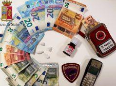 Eroina e soldi sequestrati Foto: (Polizia di Stato)