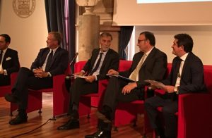 Il Ministro Graziano Delrio al forum sul porto