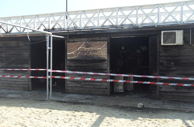 Nuova vita per i box e la passerella distrutti da un incendio a Senigallia