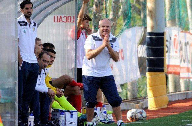 Luca Montenovo, allenatore Camerano