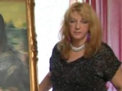 La pittrice Renata Rapposelli