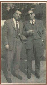 Storici dirigenti dell'Itis Merloni: da sinistra Ugo Tisi e Ugo Duca