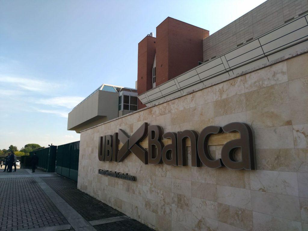 Il quartier generale di Ubi Banca a Fontedamo, Jesi