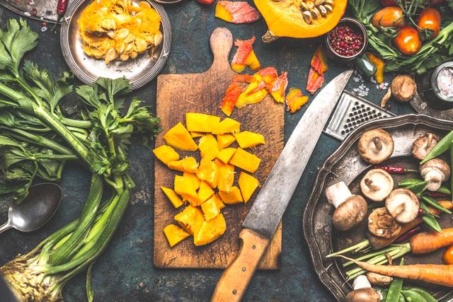 Zucca e funghi, i sapori dell'autunno in tavola